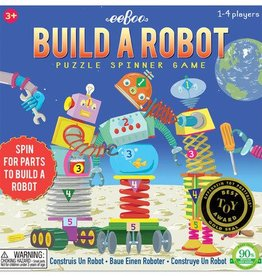 EeBoo eeBoo Build A Robot Spinner Puzzle Game