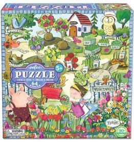 EeBoo eeBoo Growing A Garden 64 Piece Puzzle