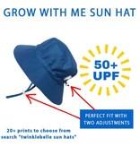 Twinklebelle Grow-With-Me Sun Hat, Aqua Dry