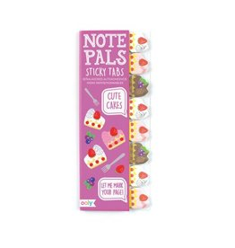 Ooly Note Pals Sticky Tabs - Cute Cakes