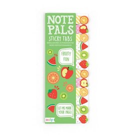 Ooly NOTE PALS STICKY NOTE PAD - FRUITY FUN (1 PACK)