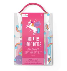 Ooly UNIQUE UNICORNS STATIONERY KIT