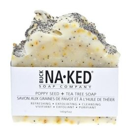 Buck Naked Soap Company Poppy Seed & Tea Tree Soap