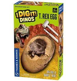 Thames & Kosmos I Dig It! Dinos - T. Rex Egg Excavation Kit