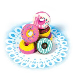 Ooly DAINTY DONUTS SCENTED ERASERS - SET OF 6