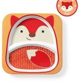 Skip Hop Skip Hop Divided Plate Fox