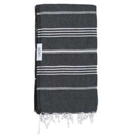 Lualoha Lualoha Turkish Towel Classic Black