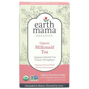 Earth Mama Angel Baby Earth Mama Organics Milkmaid Tea, 16 bags