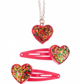 Great Pretenders Sparkle My Heart Snap Clip Set