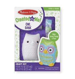 Melissa & Doug Melissa & Doug Created By Me Owl Bank