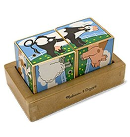 Melissa & Doug Melissa & Doug Farm Sound Blocks
