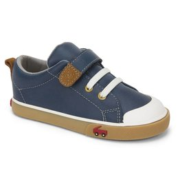 See Kai Run See Kai Run Stevie II Navy Leather - Toddler Size 9.5