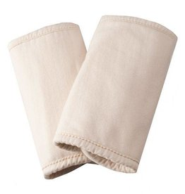 Ergobaby Ergo Baby Teething Pads, 100% Cotton, Natural