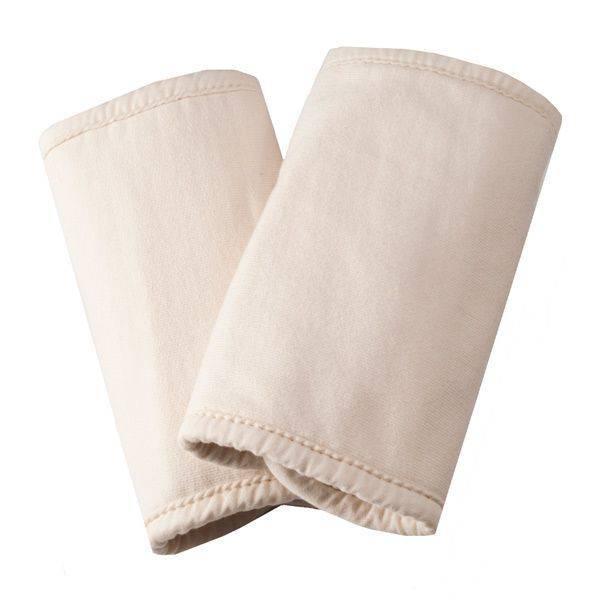 Ergobaby Ergo Baby Teething Pads, 100% Cotton, Natural