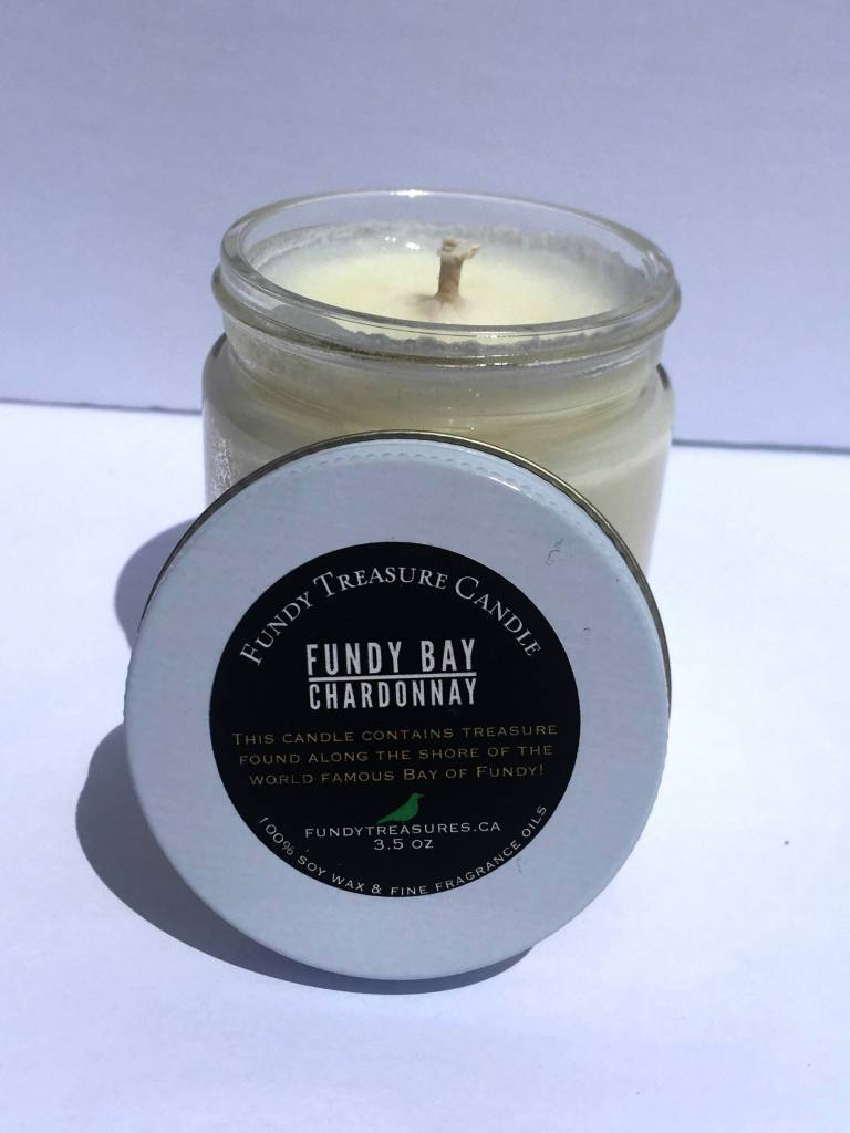Fundy Treasures Fundy Maritime Treasure Candle