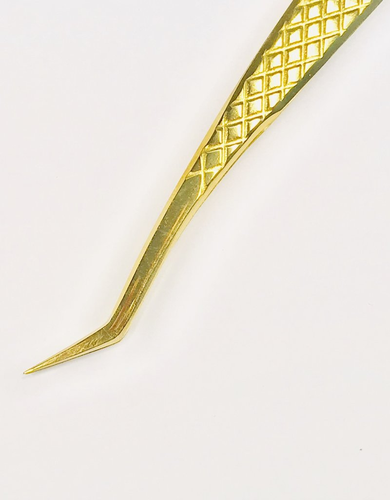 No 1 by Star lashes Volume Tweezer 45 degree angle