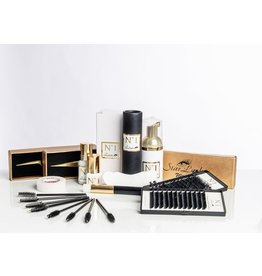 Star Lashes World Kit de Extensiones de pestañas, técnica una a una