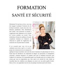 Star Lashes World Formation Santé Sécurité (version digitale)