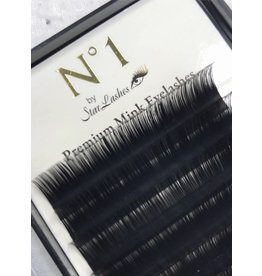 Star Lashes World Flat Lashes Mixed Tray  0.15