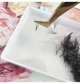 Star Lashes World Pro Made Fans 4D L Curl  0.07