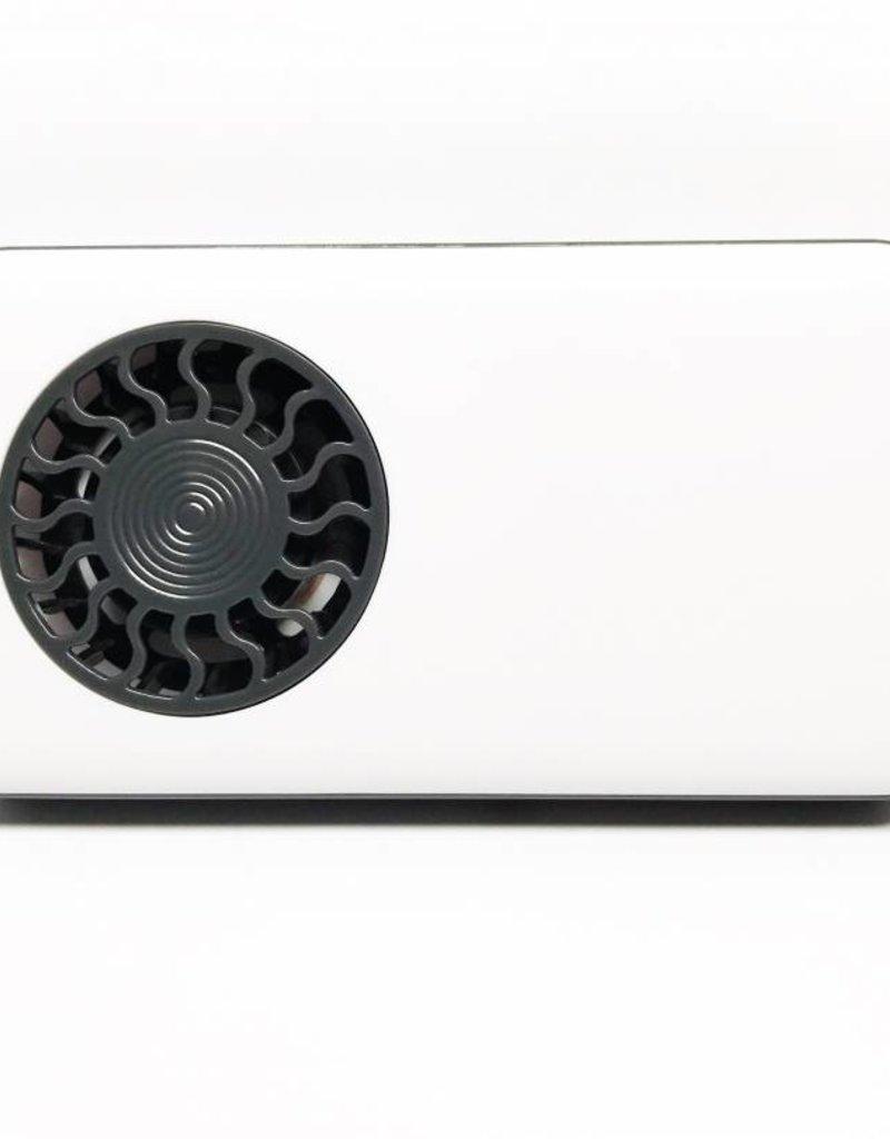 Hand Held White Portable Fan