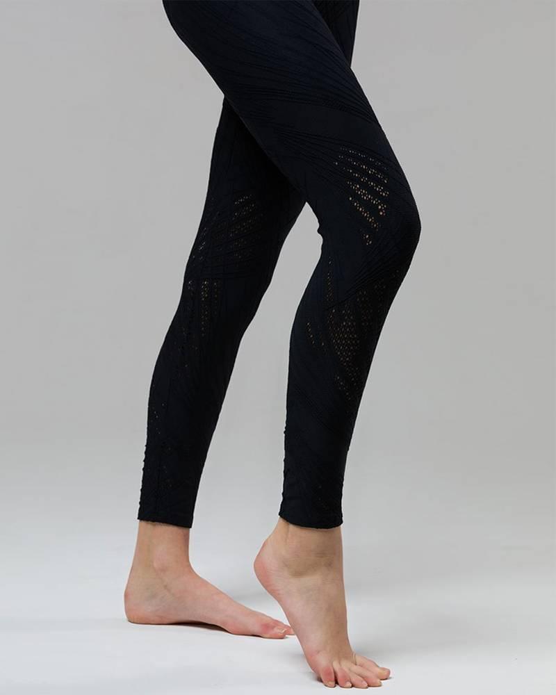 Onzie Black Selenite Midi Legging