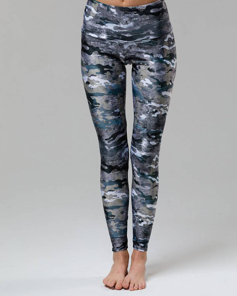 Onzie Marble Camo High Rise Legging