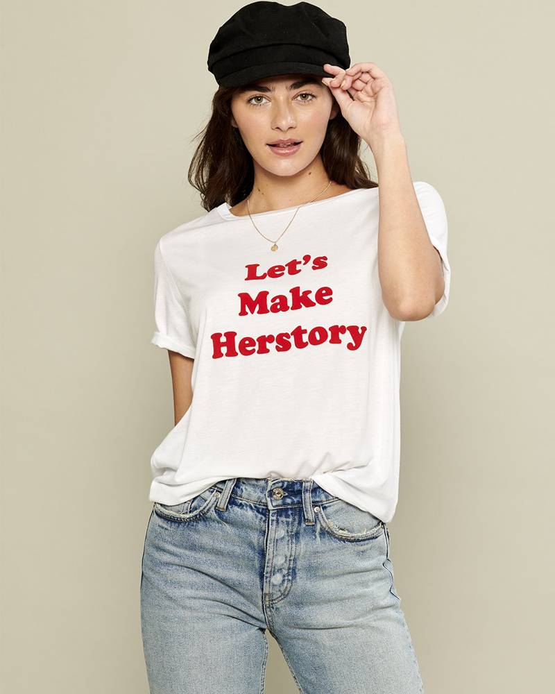 South Parade Lets Make Herstory Loose Tee