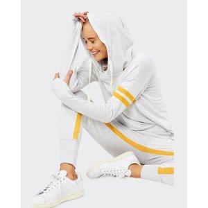 Splits59 Apres Sweatpant Heather White/Marigold