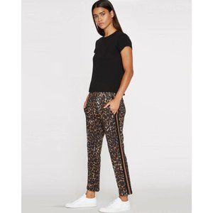 Pam and Gela Leopard Crop Trackpant