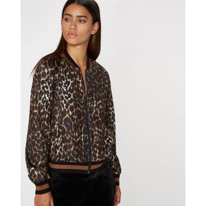 Pam and Gela Leopard Track Jacket