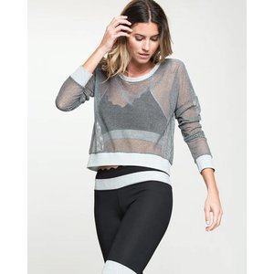 Grey Moving On Knit Sweater