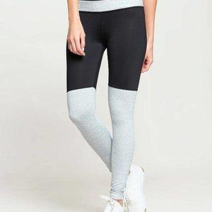 Black/Silver Bicoastal Legging