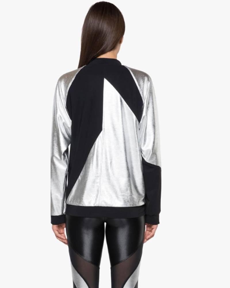Koral Gilded Chromoscope Silver/Black Jacket