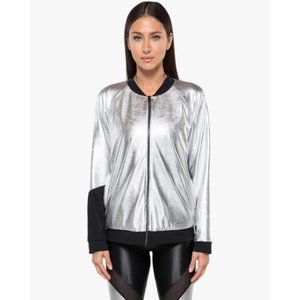 Koral Gilded Chromoscope Silver/Black Jacket