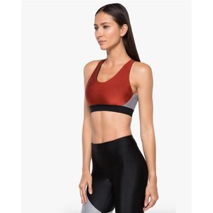 Koral Endpoint Sprint Rouge/Silver Sports Bra