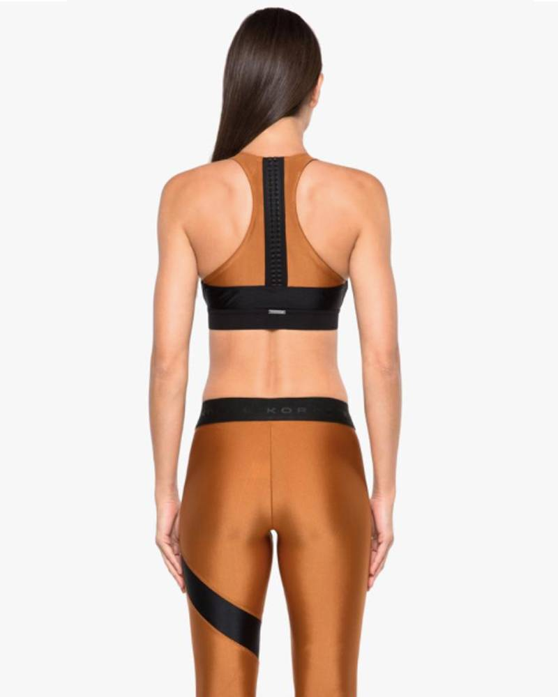 Koral Bunji Sprint Black/Sunstone Sports Bra