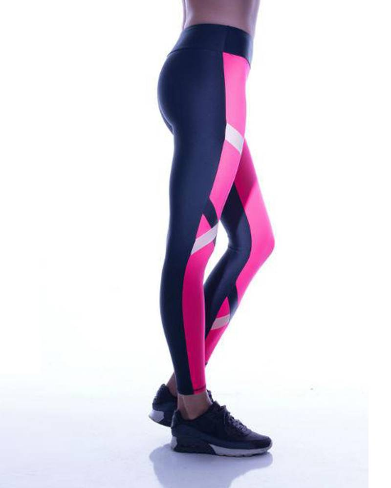 Lanston Kylen Legging Blk/ Neon
