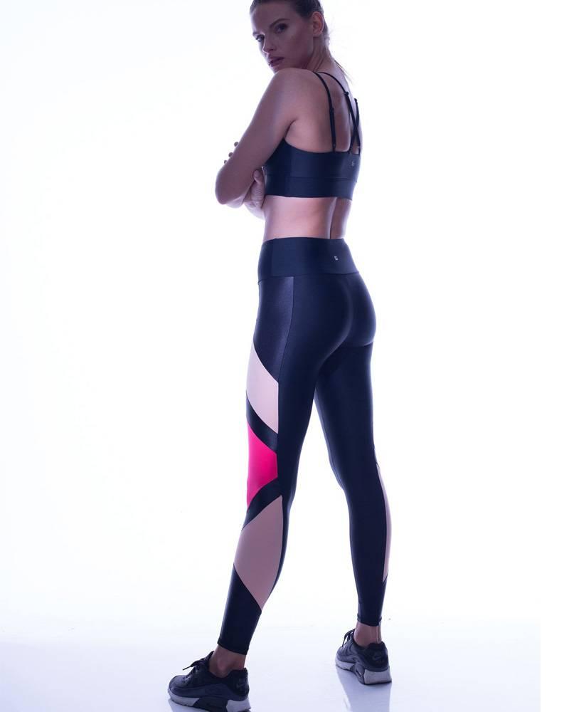 Lanston Carver Legging Blk/Neon
