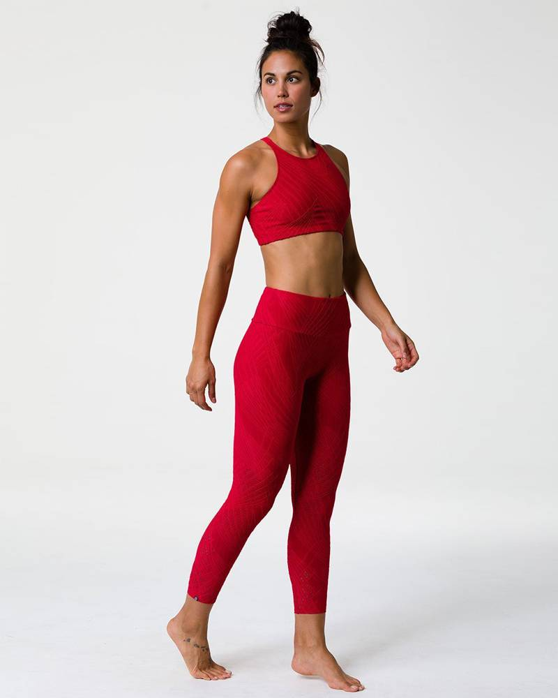 Onzie Red Selenite Midi Legging