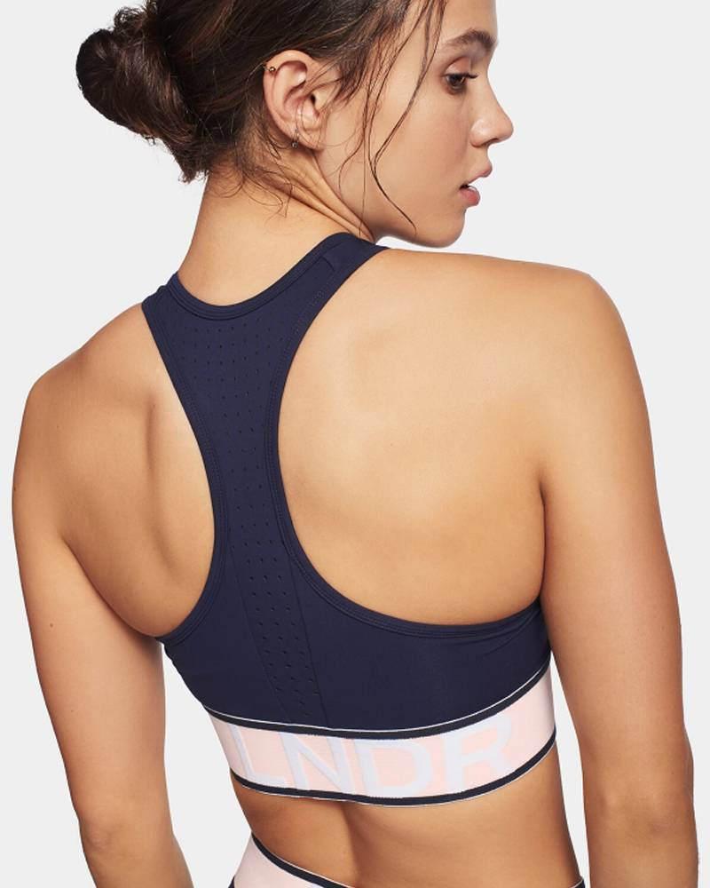 LNDR Marvel Navy Sports Bra