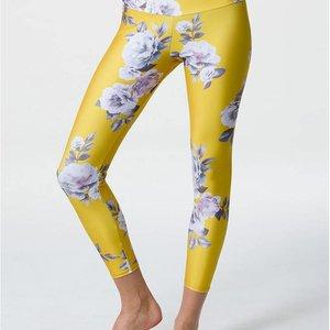 Onzie Golden Floral High Basic Midi Legging