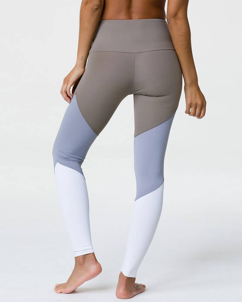 Onzie Dust Fossil Combo High Rise Track Legging