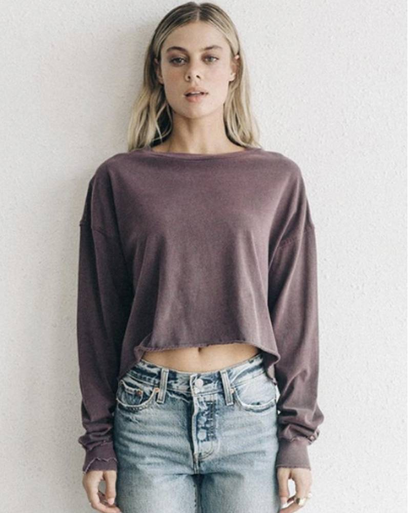 Joah Brown Soho Long Sleeve Sangria