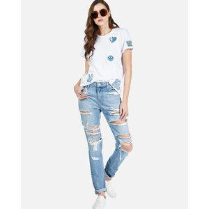 Lauren Moshi Croft S/S Tee - Love Cali Patches