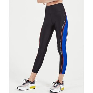 P.E. Nation Black Three Point Legging