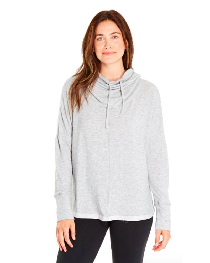 Good Hyouman Give More. Love More. Light Heather Grey Pullover
