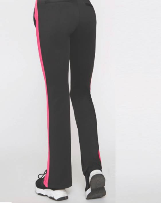 Pam and Gela Track Pant With Pink Stripe