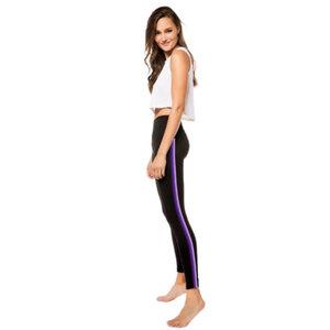Strut This Sage Ankle Black/Lilac Legging