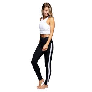 Strut This Gemma Black/Checker/White Legging